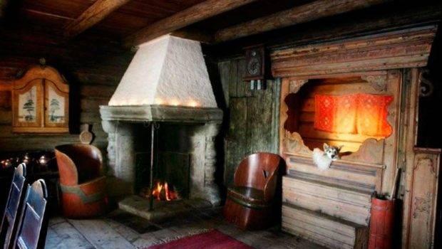 Old Norwegian Interior Norway Sweden Finland Pinterest