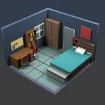 Olde Tinkerer Studio Dorm Room Model