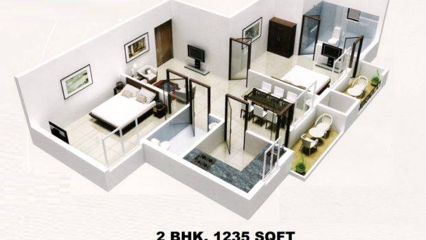 One Bed Room Flat Two Flats