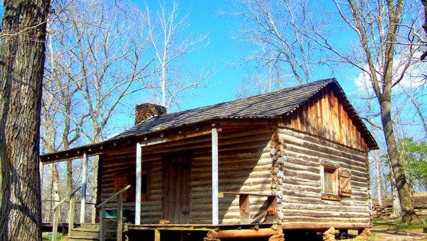 One Room Pioneer Log Cabin Photograph Kathy White