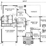 One Story Home Floor Plans