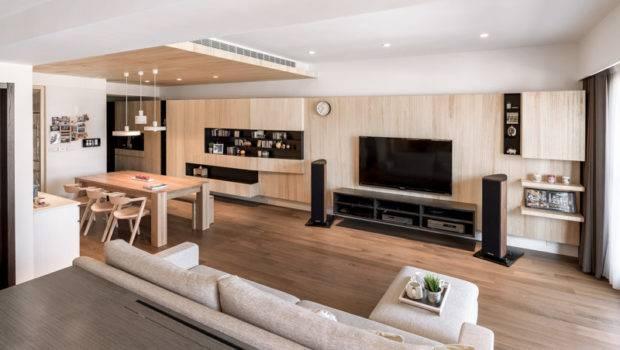 Open Living Room Floor Plan