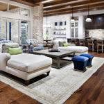 Open Plan Design Between Living Room Kitchen