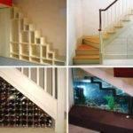 Original Storage Ideas Under Stairs Home Design Garden