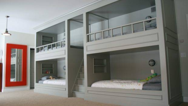 Our Home Have Boy Bunk Room Girl Bunks