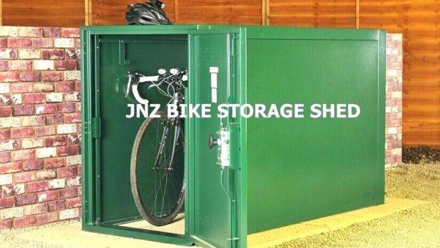 Outdoor Bike Storage Shed Secure Lockers Plastic