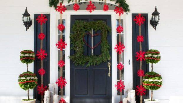 Outdoor Holiday Decorations Easy Crafts Homemade Decorating