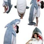 Oversized Shark Pillow Cushions Sleeping Bags Christmas