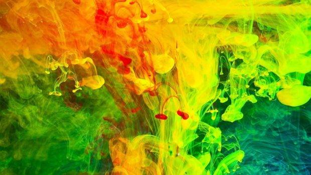 Paint Abstract Color Splash