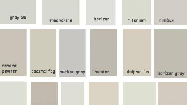 Paint Benjamin Moore Greige Shades Gray Owl Moonshine Horizon