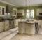 Painted Kitchen Range