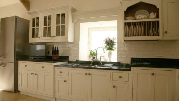 Painted Oak Kitchen Llandeilo Mark Stone Welsh Kitchens