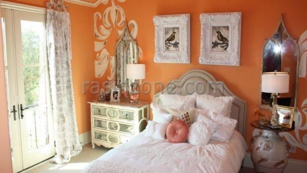 Painting Ideas Bathroom Walls Orange Bedroom