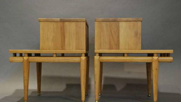 Pair Bed Side Tables Malinche Stdibs
