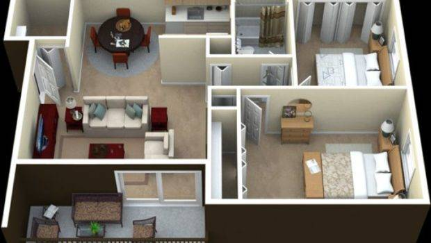 Paket Interior Apartemen Kamar Leora