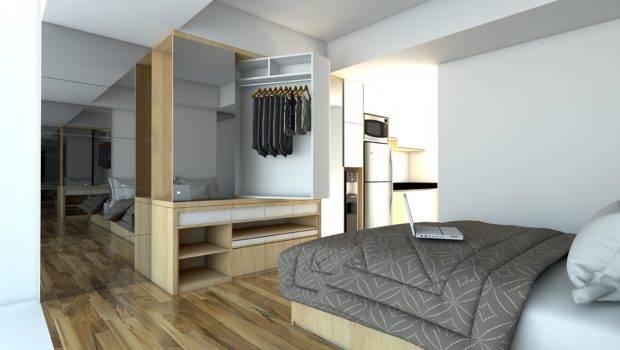 Paket Interior Apartemen Studio Landmark Residence Bandung