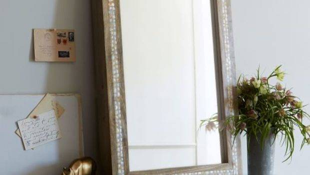 Parsons Wall Mirror Mother Pearl West Elm
