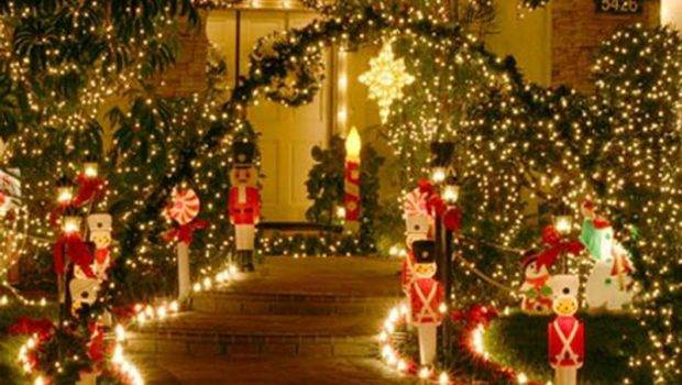 Parts Outdoor Lighted Christmas Decorations Beautiful