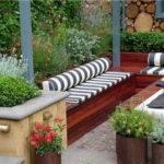 Patio Decorating Ideas Contemporary Small Garden