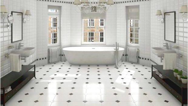 Patterns Tile Bathroom Black White Designs Bathrooms