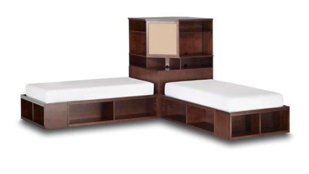 Pbteen Design Your Room Twin Beds Corner Unit