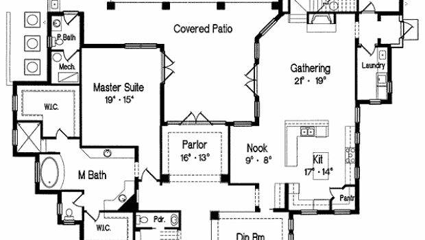 Perfect House Shaped Lot Floor