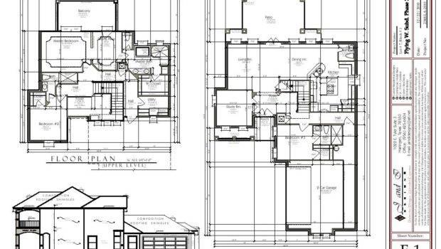 Perk Lane House Construction Plans