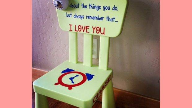 Personalized Time Out Chair Own Timer Certifikid