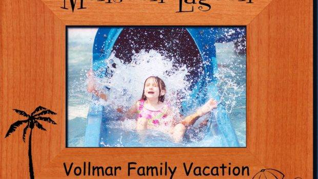 Personalized Vacation Frames Custom Engraved Frame