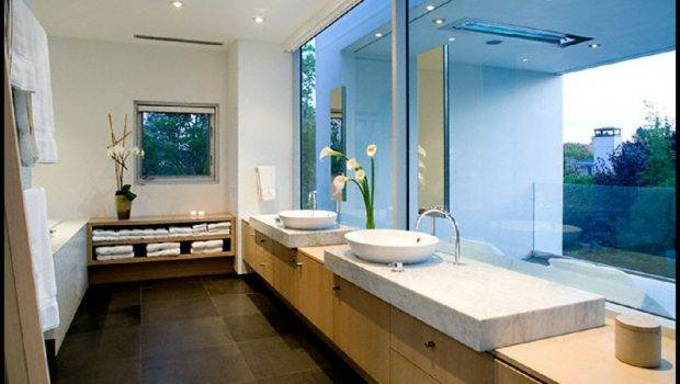 Photos Bathroom Simple Rectangular Shape House