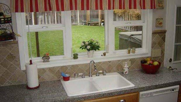 Photos Window Treatment Ideas Kitchen Bay
