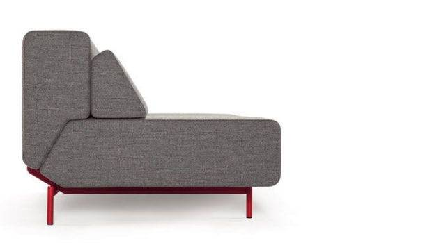 Pil Low Sofa Bed Lama Red Frame Side
