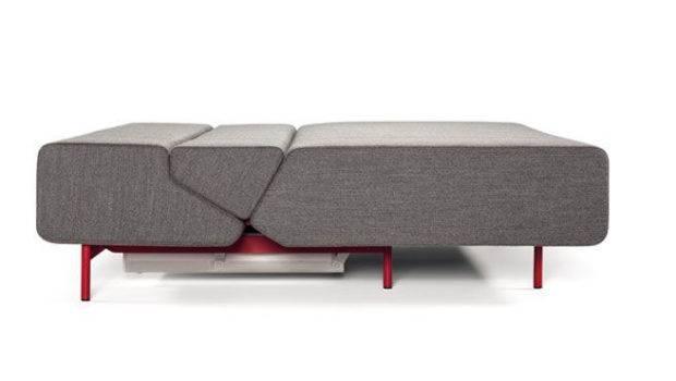 Pil Low Sofa Bed Lama Red Frame