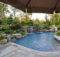 Pin Swimming Pool Landscaping Ideas Inground Pools Design