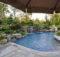 Pin Swimming Pool Landscaping Ideas Inground Pools Design