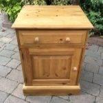 Pine Cupboard Storage Bedside Lamp Table United Kingdom Gumtree