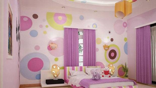 Pink Girls Bedroom Decor Interior Design Architecture Furniture