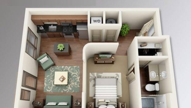 Planos Apartamentos Peque Dormitorio Dise