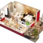 Plans Studio Apartments Floors Layout Floor