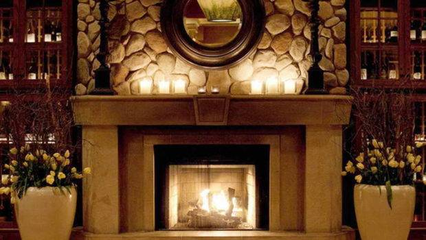 Pleasant Ideas Fireplace Mantels Decorating Grey