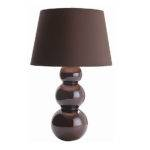 Plush Home Triple Gourd Ceramic Lamp