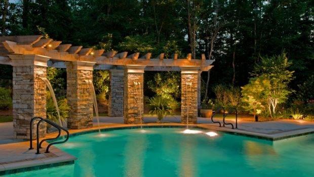 Pool Area Lighting Ideas