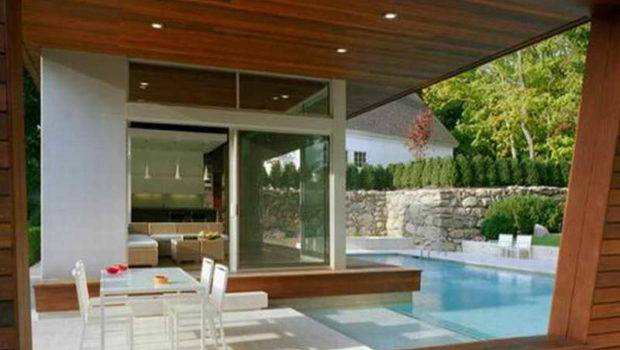 Pool House Interior Designs Design