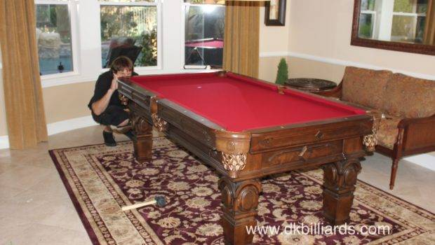 Pool Table Area Rug Billiards Movers Repair