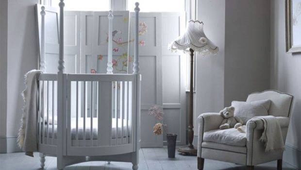 Popular Clean White Unisex Baby Nursery Room Ideas