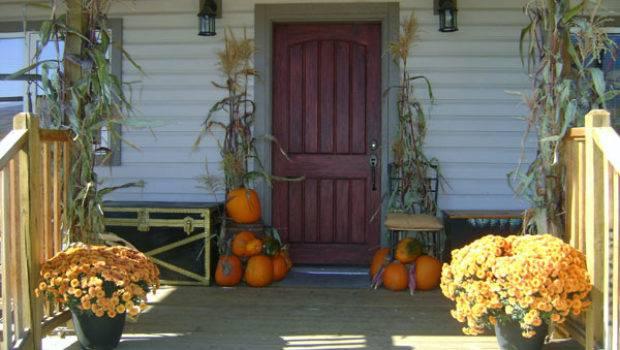 Porch Fall Decor Ideas Outdoortheme