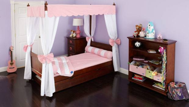 Powell Princess Emily Canopy Bed Kids Beds Furniture Mart