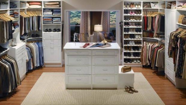 Press Kits Closet Maid Master Bedroom White Rend