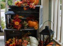 Pretty Autumn Porch Cor Ideas Digsdigs