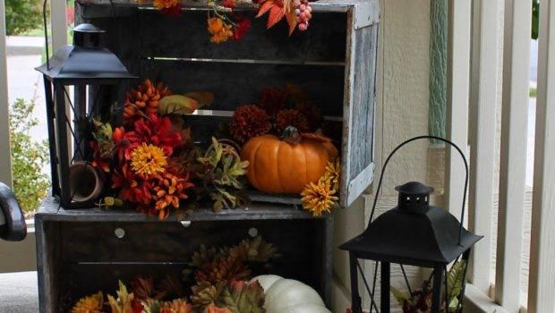 Pretty Autumn Porch Cor Ideas Digsdigs